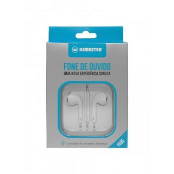 Fone de Ouvido com microfone e controle de volume Kimaster K505