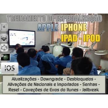 Especialização Manutenção Apple (iPhone, iPad, iPod)